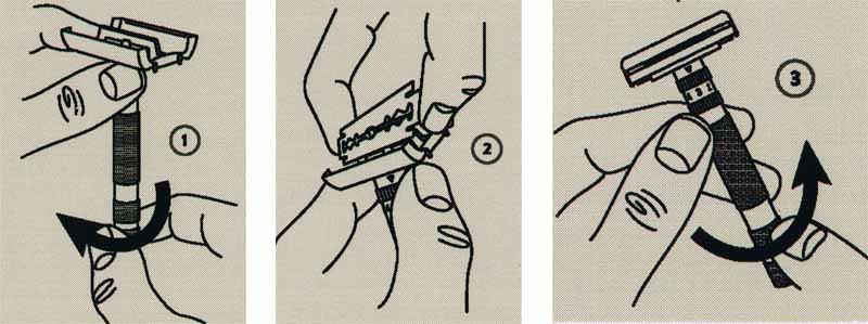 Instrukcja Rockwell Razors Model T