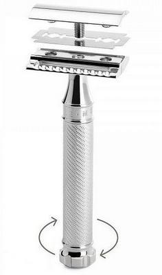 muhle r89 TWIST maszynka do golenia na zyletki
