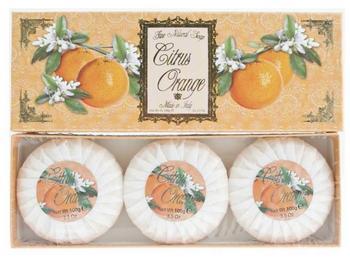 pomarańczowe mydła toaaletowe saponificio varesino