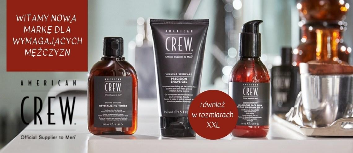 American Crew, Profesjonalne kosmetyki męskie.
